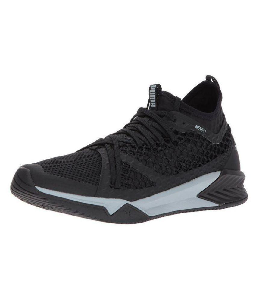 Puma Men Ignite XT Netfit Cross-Trainer Black Running Shoes - Buy Puma Men  Ignite XT Netfit Cross-Trainer Black Running Shoes Online at Best Prices in  India ... 08fd0d609