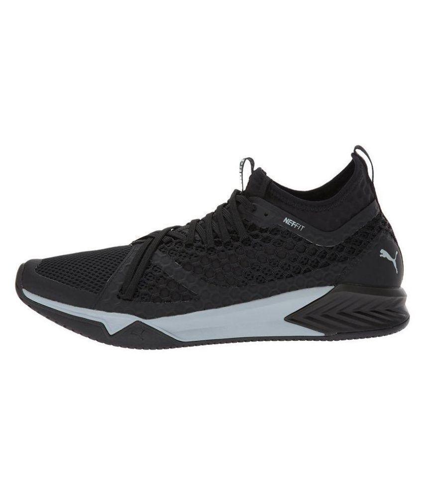 086f4317806 Puma Men Ignite XT Netfit Cross-Trainer Black Running Shoes - Buy Puma Men  Ignite XT Netfit Cross-Trainer Black Running Shoes Online at Best Prices in  India ...
