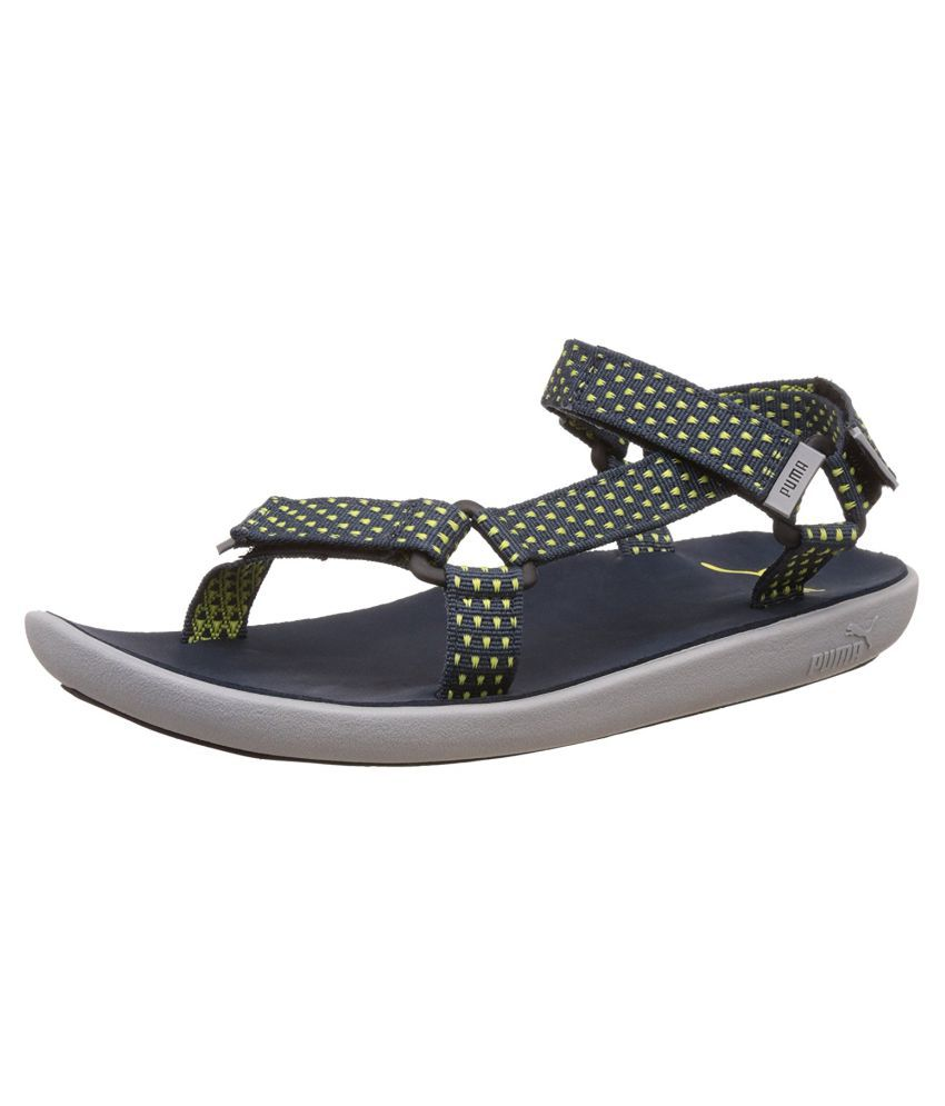 eac9769b0c5d Puma Men s Plato DP Athletic   Outdoor Blue Sandals Price in India- Buy  Puma Men s Plato DP Athletic   Outdoor Blue Sandals Online at Snapdeal