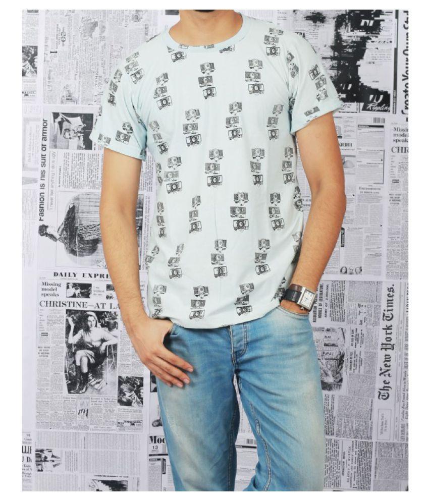 armaan khan designs White Round T-Shirt