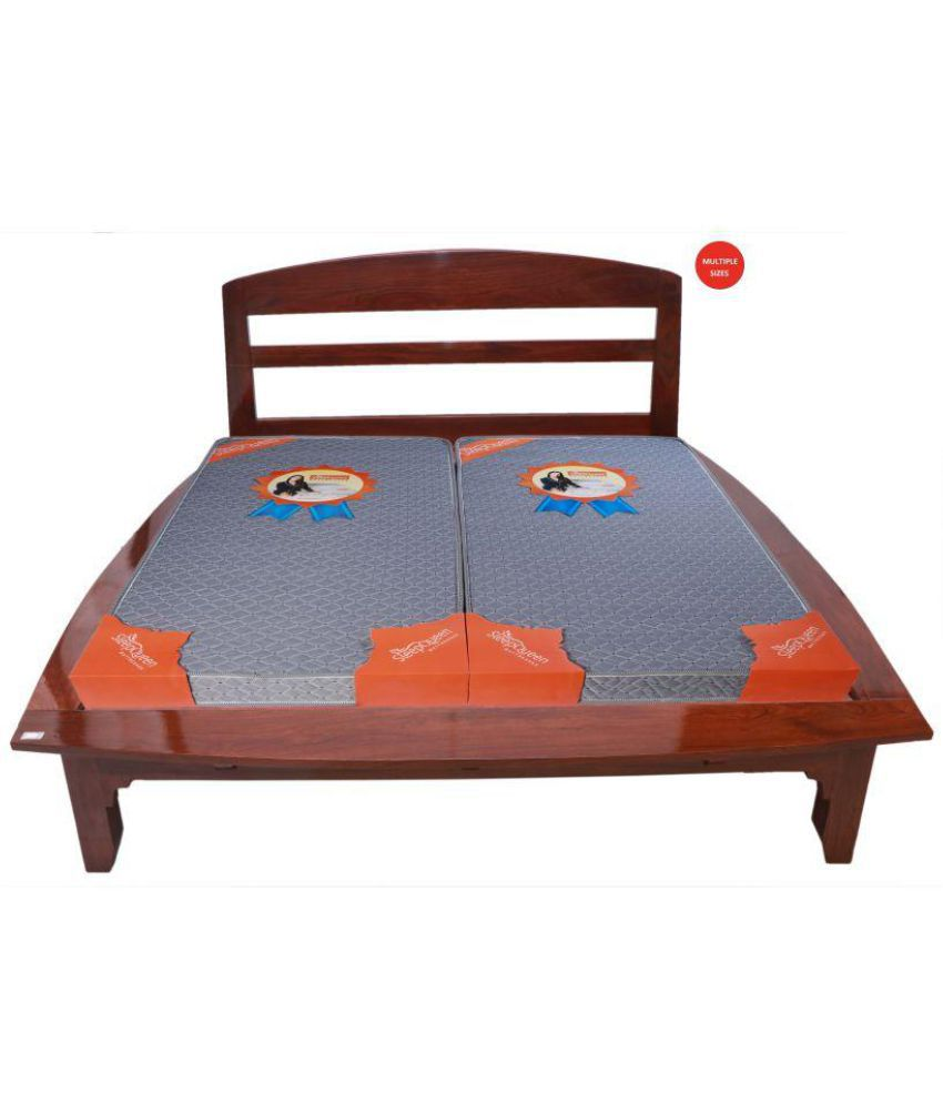 sleep queen myra quantam 10 cm 4 in foam mattress buy sleep queen