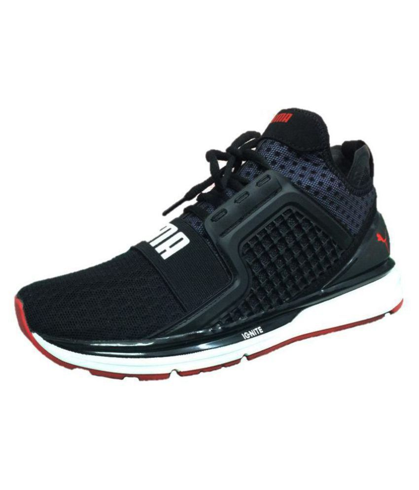 huge selection of 62bc4 1df5b Puma iGNITE Limitless Black Running Shoes - Buy Puma iGNITE Limitless Black  Running Shoes Online at Best Prices in India on Snapdeal