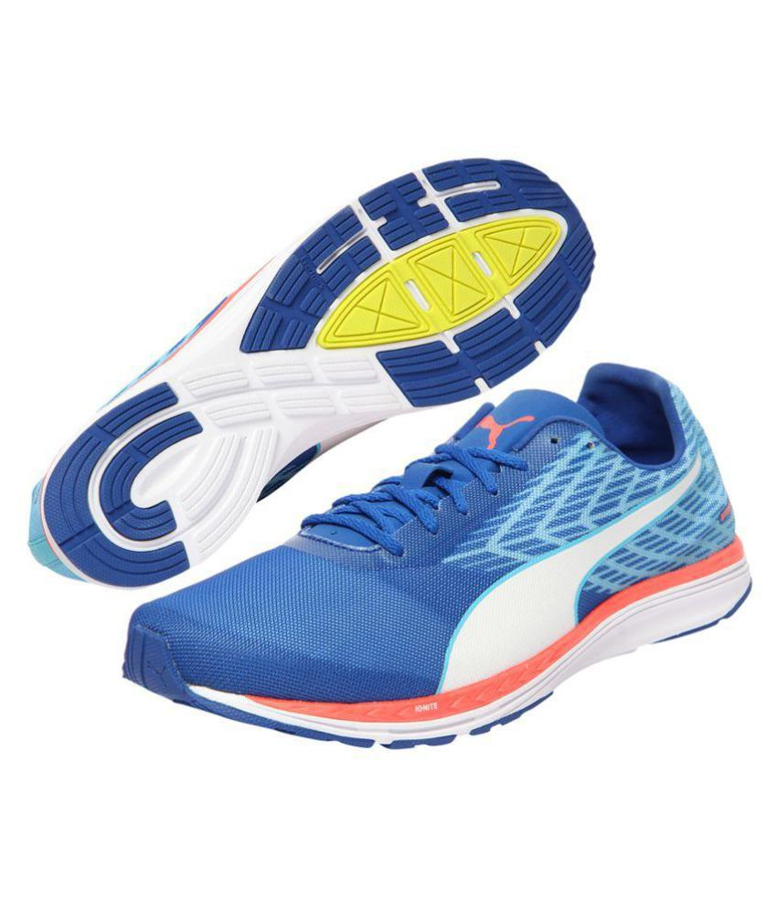 34b8afc47071 Puma PEED 100 R IGNITE MENS Blue Running Shoes - Buy Puma PEED 100 R ...