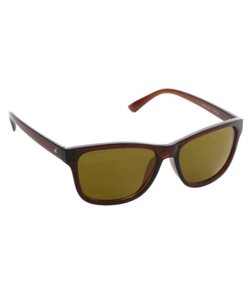 7423d6b743 Fastrack Brown Wayfarer Sunglasses ( P357BR6P ) - Buy Fastrack Brown  Wayfarer Sunglasses ( P357BR6P ) Online at Low Price - Snapdeal