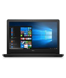 Dell Inspiron 3565 Notebook AMD APU E2 4 GB 39.62cm(15.6) Windows 10 Home with MS Office Home & Student Not Applicable Black