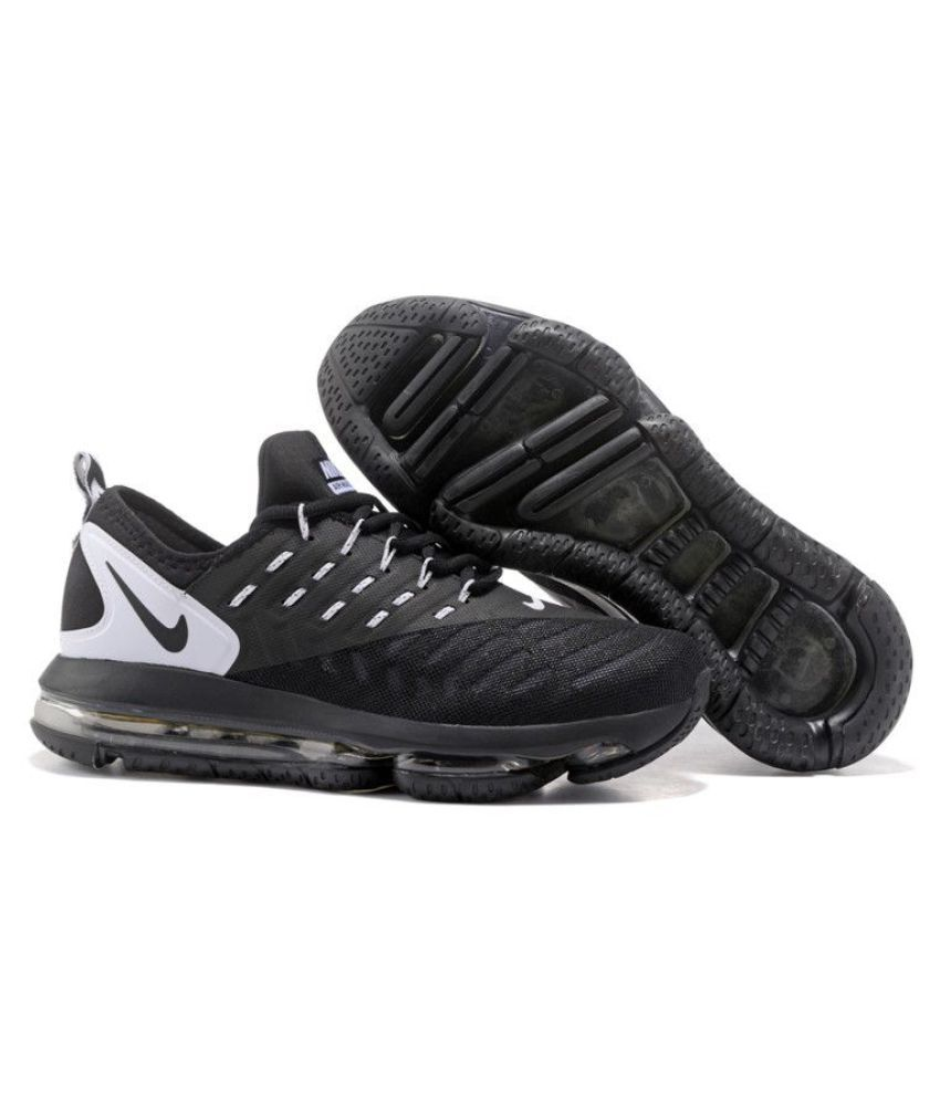 best cheap 32868 f5c2b Nike Air Max 2018 DLX Black Running Shoes - Buy Nike Air Max 2018 DLX Black  Running Shoes Online at Best Prices in India on Snapdeal