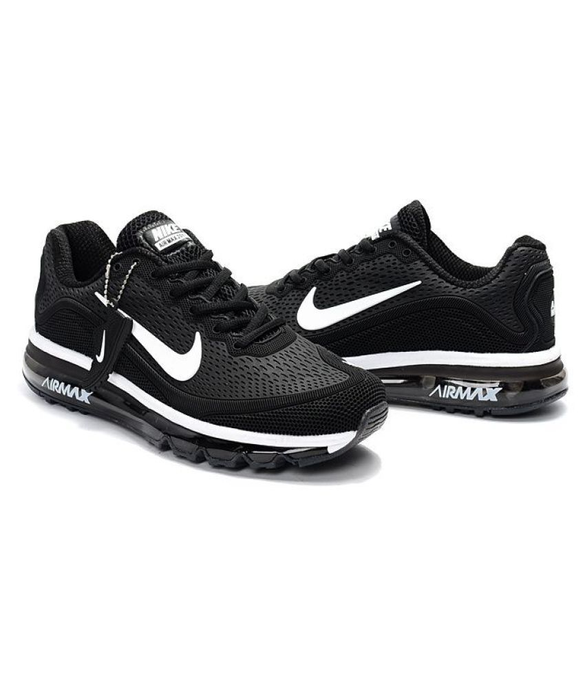 ... Nike AirMax 2017.5 Ghost Black Running Shoes ...