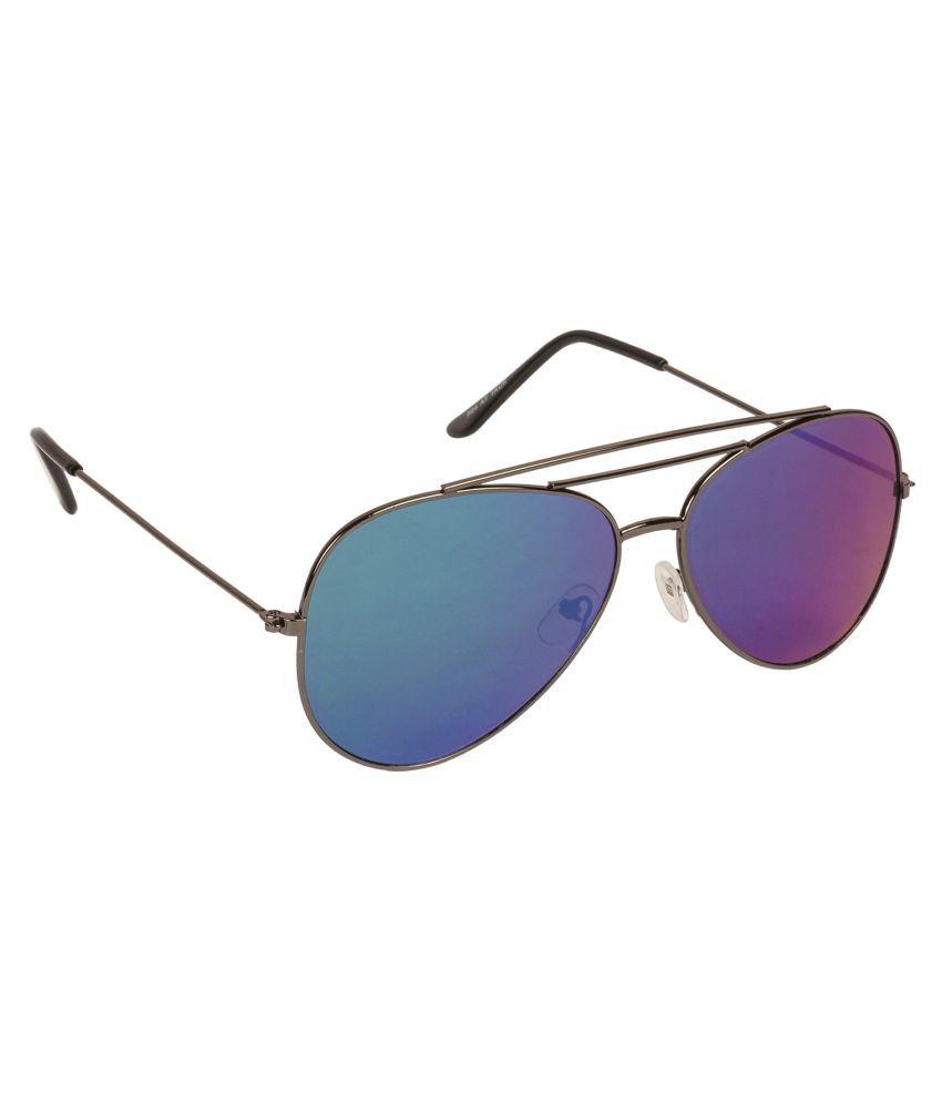 Arzonai Blue Aviator Sunglasses ( MA-904-S9 )