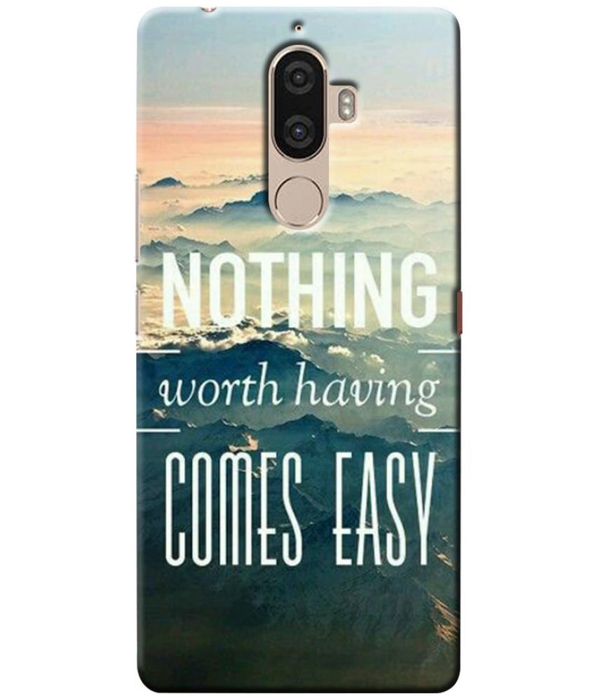 Lenovo K8 Note Printed Cover By Case King