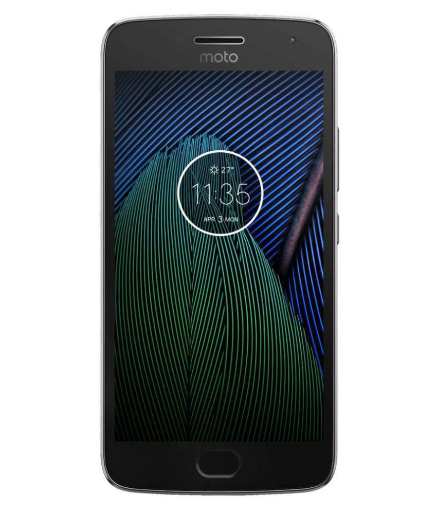 OPEN BOX Motorola Moto G5 Plus 32GB Grey 4 GB 4 GB ...