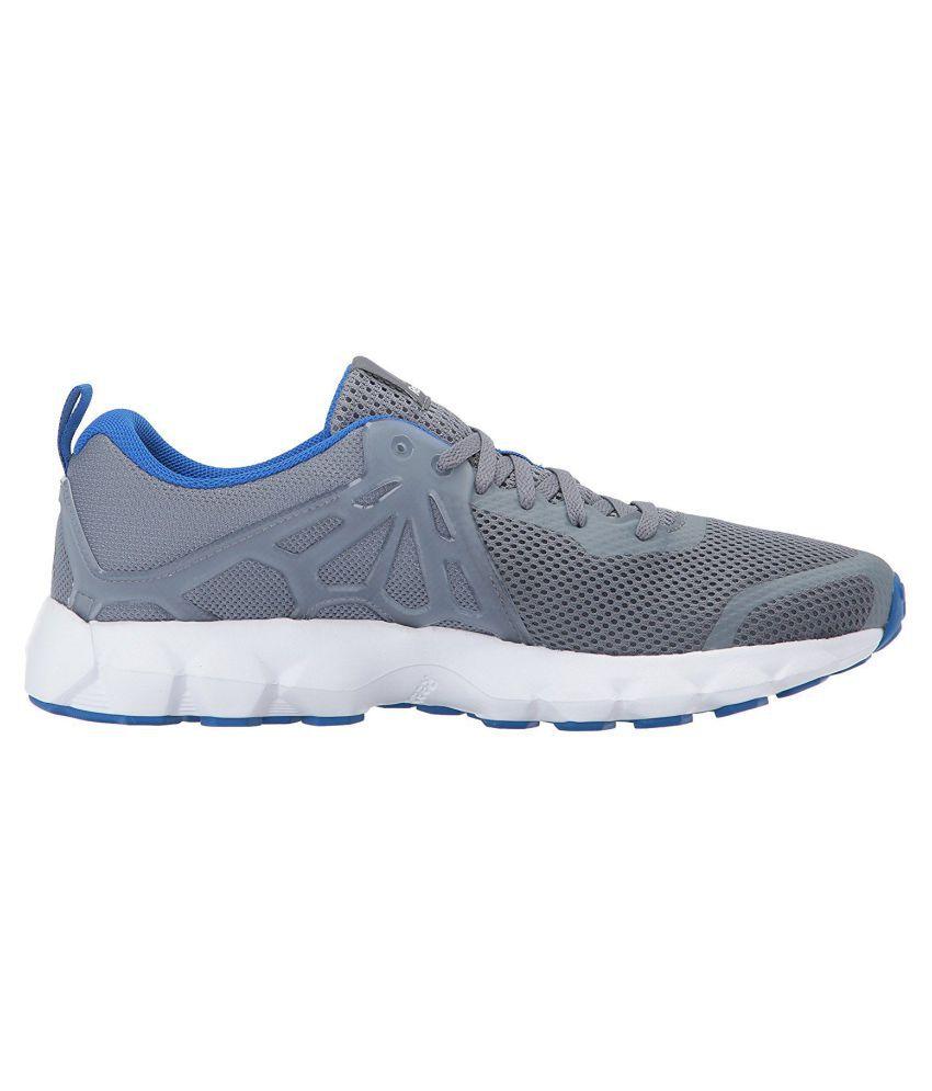 Reebok Hexaffect Run 5.0 Gray Running Shoes - Buy Reebok Hexaffect ... 9526fd5b2