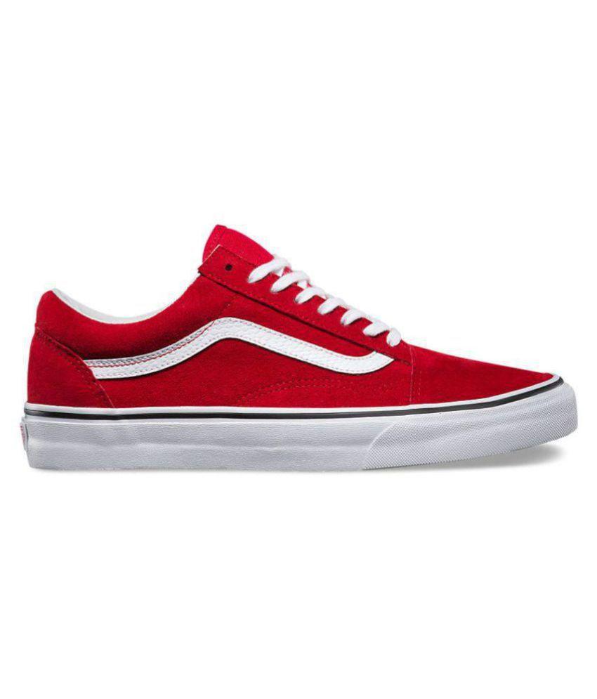 VANS Old Skool Red Casual Shoes - Buy VANS Old Skool Red Casual ... 3229dbe3b