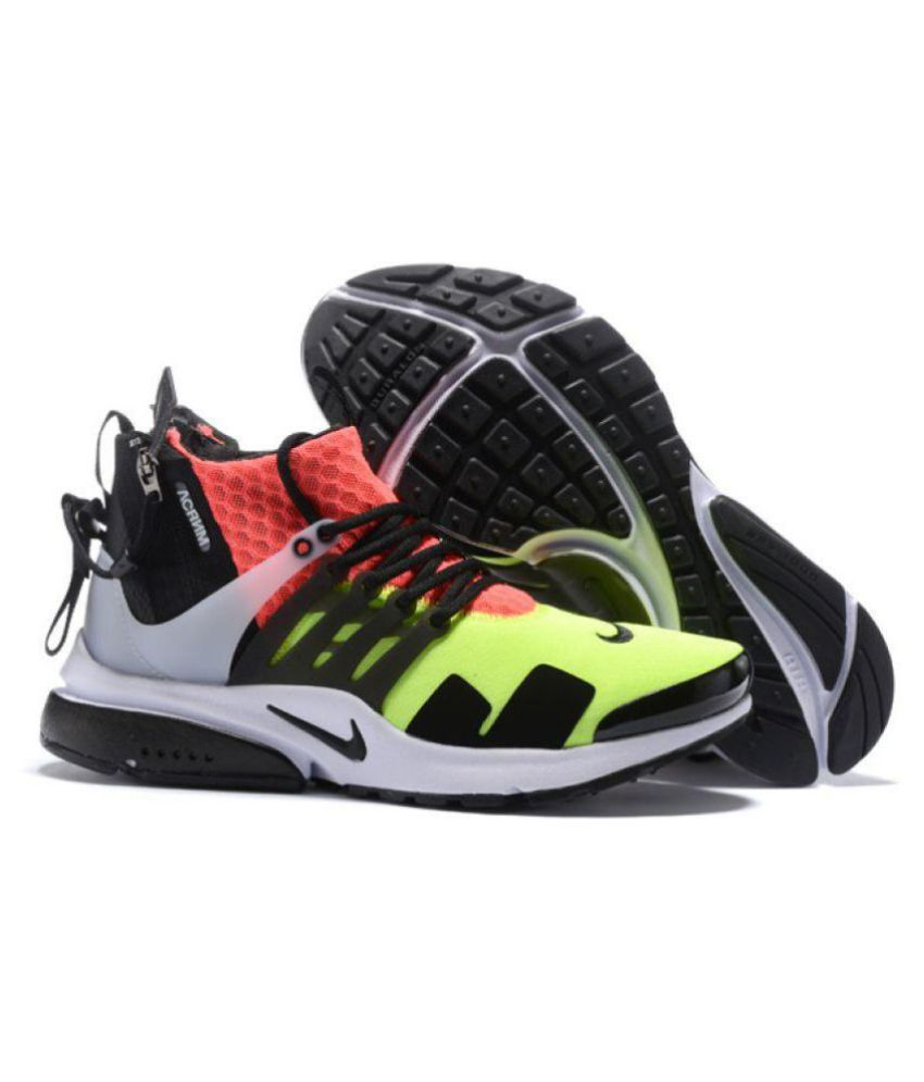 new concept 4905b c03f4 Nike AIR PRESTO ACRONYM Multi Color Running Shoes ...