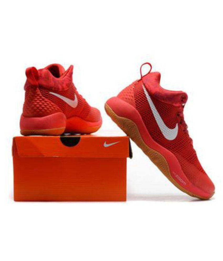 quality design f85cd ab31f ... Nike ZOOM REV EP KAY YOW BEAST Red Basketball Shoes ...