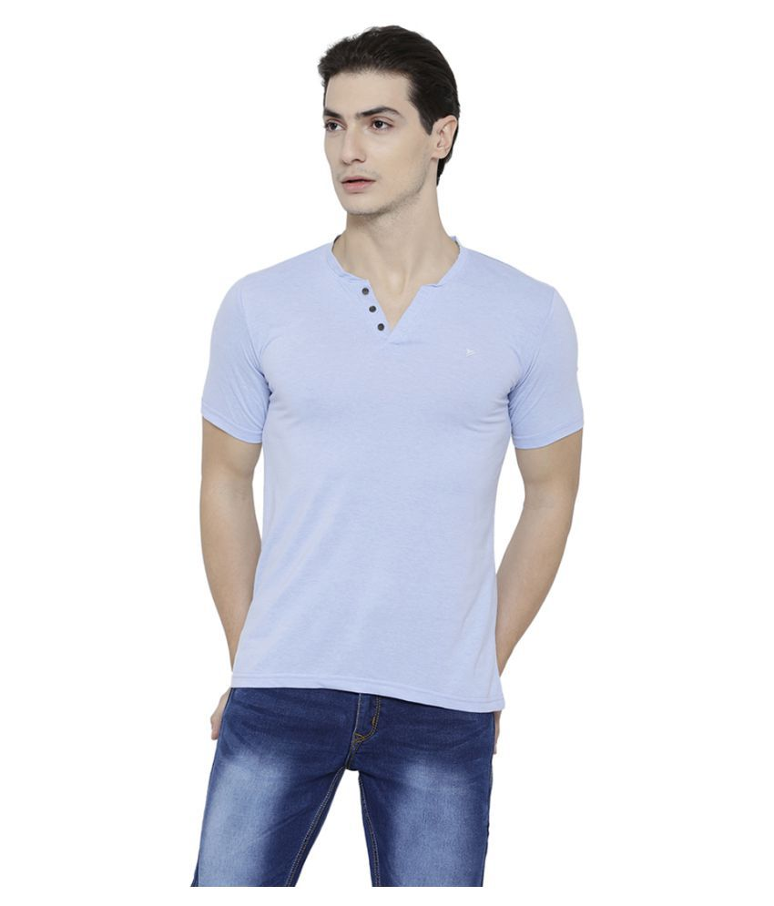 Neva Blue V-Neck T-Shirt