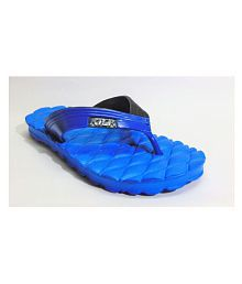 LADY CROWN Blue Daily Slippers