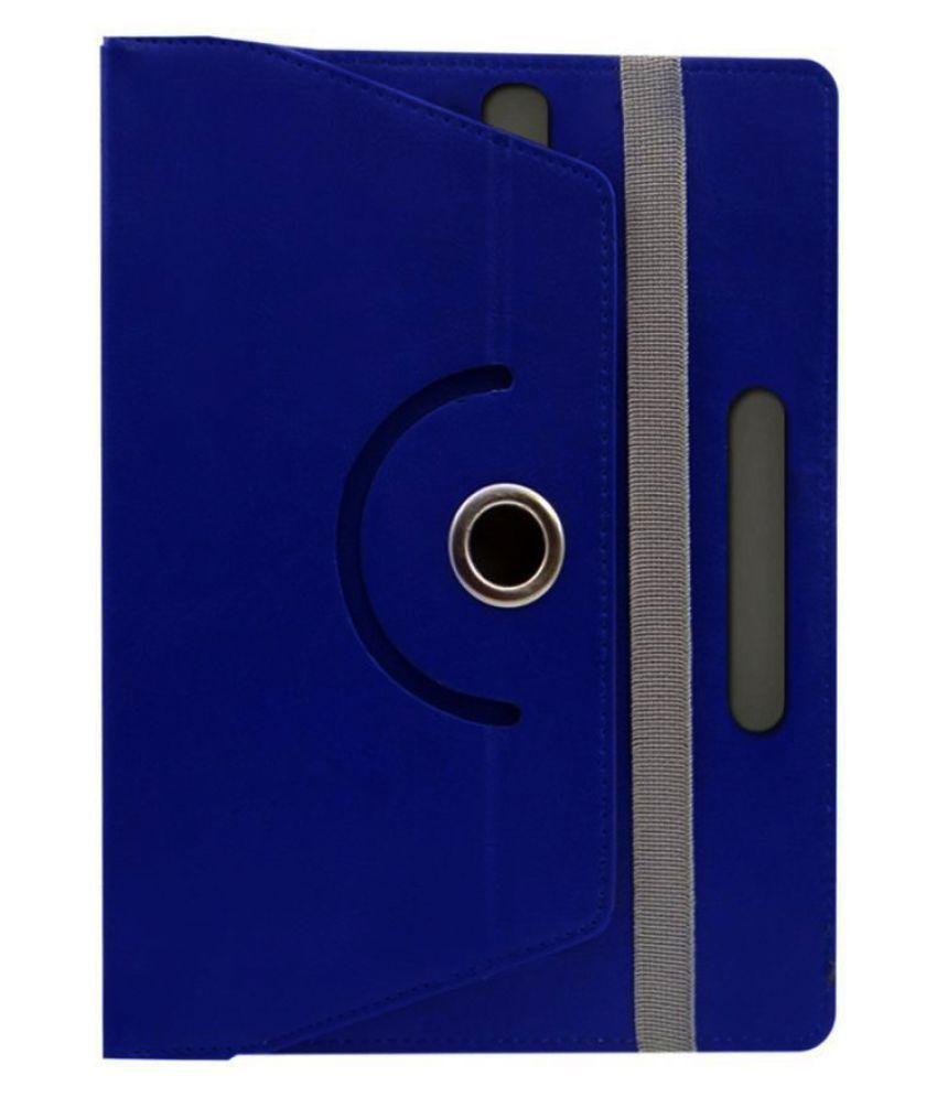 Sky Edumedia Tab 801 Flip Cover By Fastway Blue
