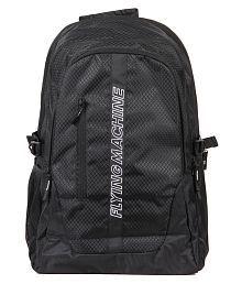Flying Machine Black Laptop Bags