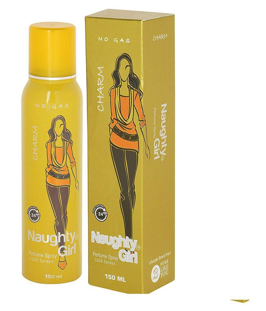 Naughty Girl CHARM Perfume For Women Long Lasting & No Gas 150ml