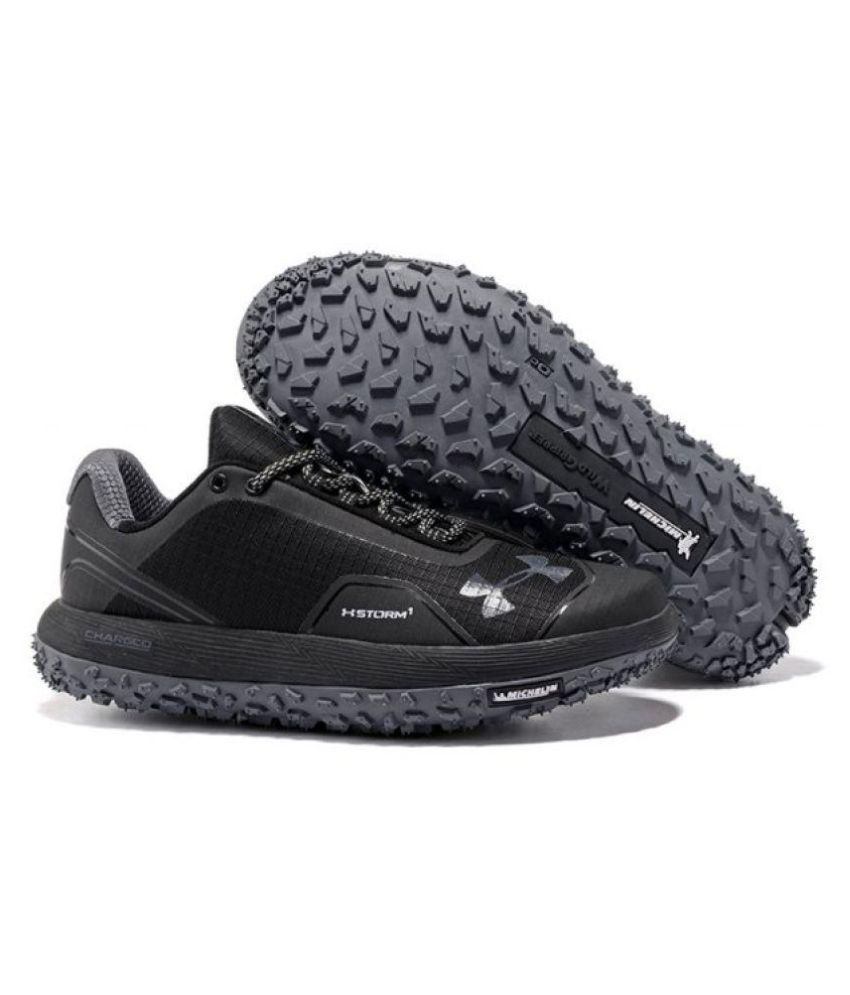 timeless design 62a36 c7608 Under Armour Imported Fat Tire Black Running Shoes