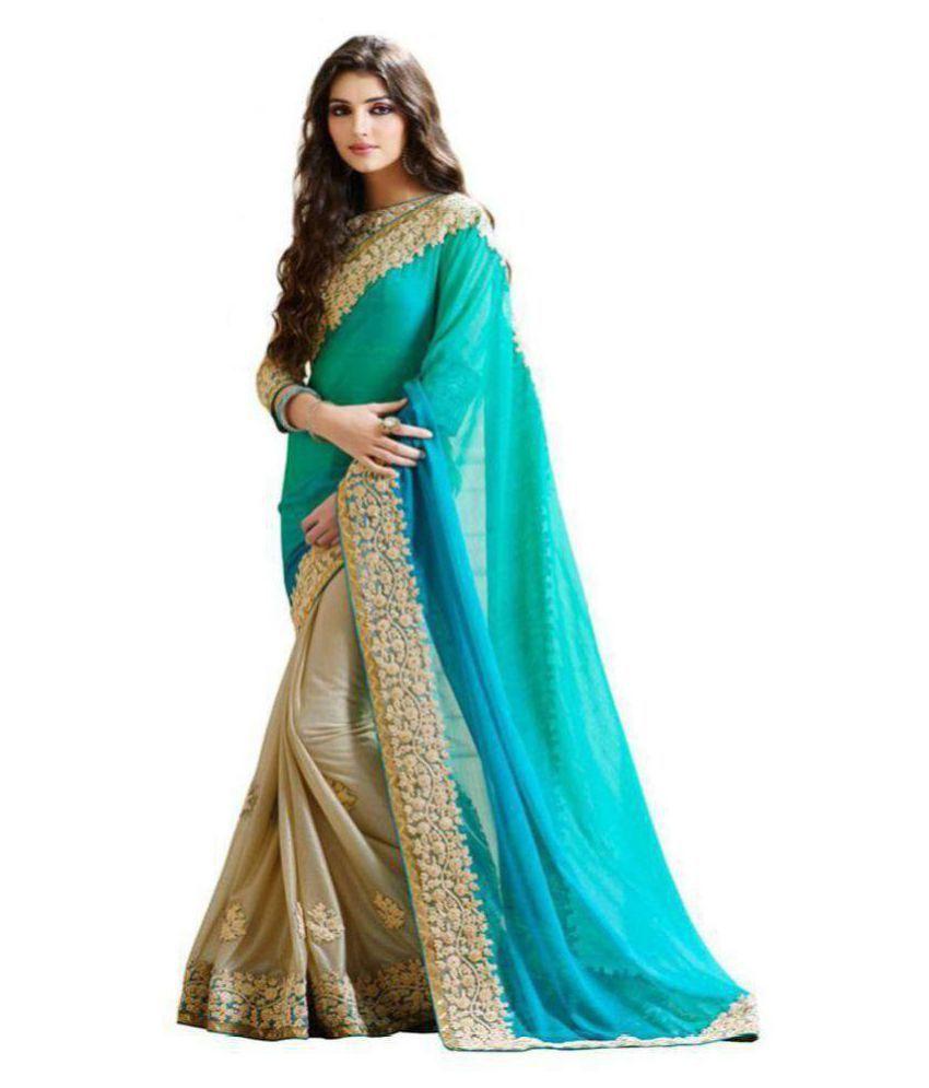 Party Wear Designer Sari Multicoloured Cotton Saree