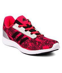 Adidas Maroon Running Shoes