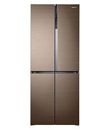 Samsung 594 Ltr No Star RF50K5910DP 4 DOOR Multi Door Refrigerator - Gold