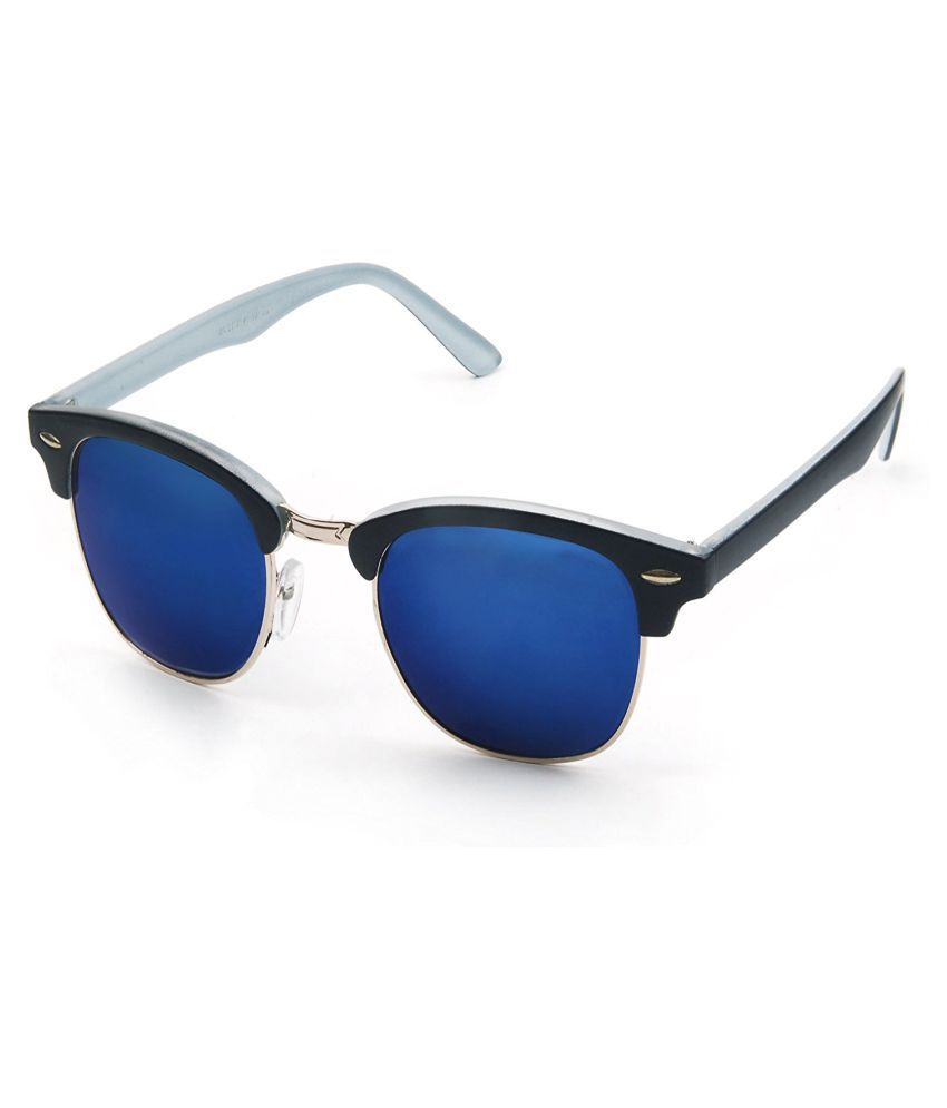 Oximus Multicolor Clubmaster Sunglasses ( O-SPECS-66 )