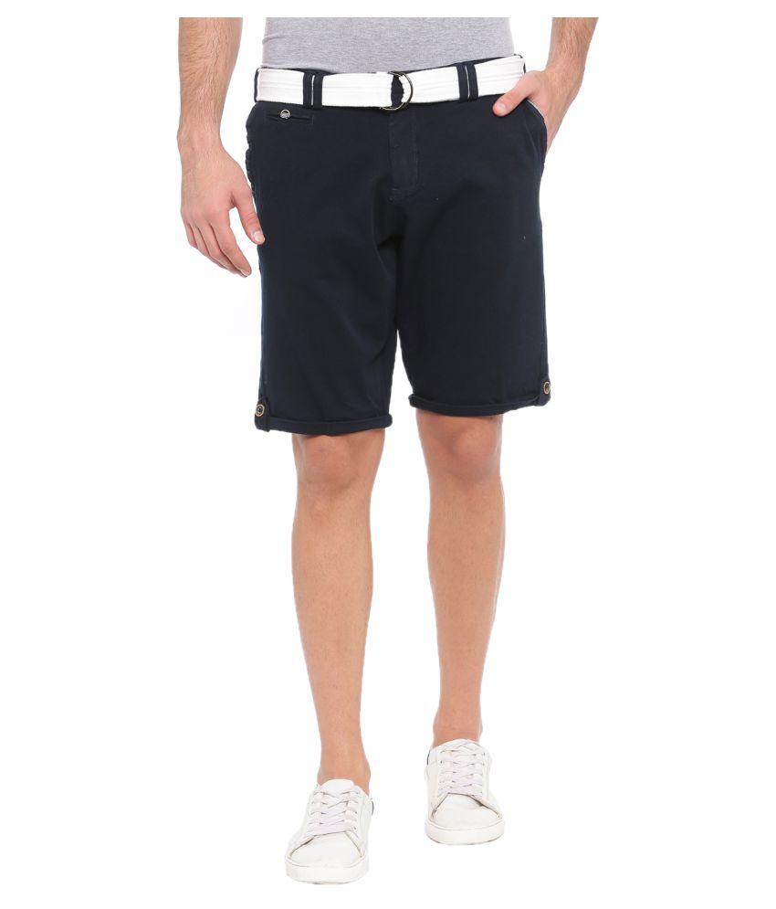 SHOWOFF Blue Shorts