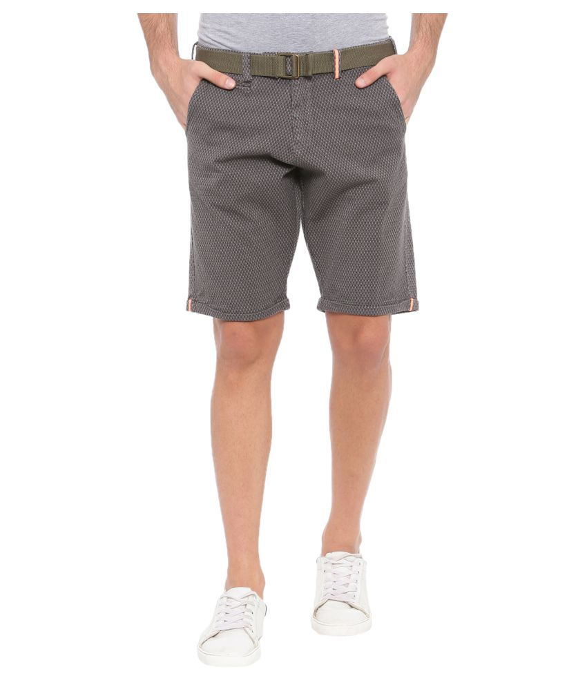 SHOWOFF Grey Shorts