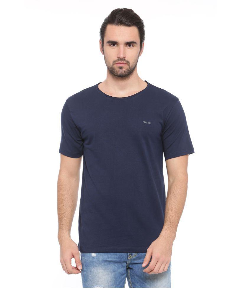 SHOWOFF blue Round T-Shirt