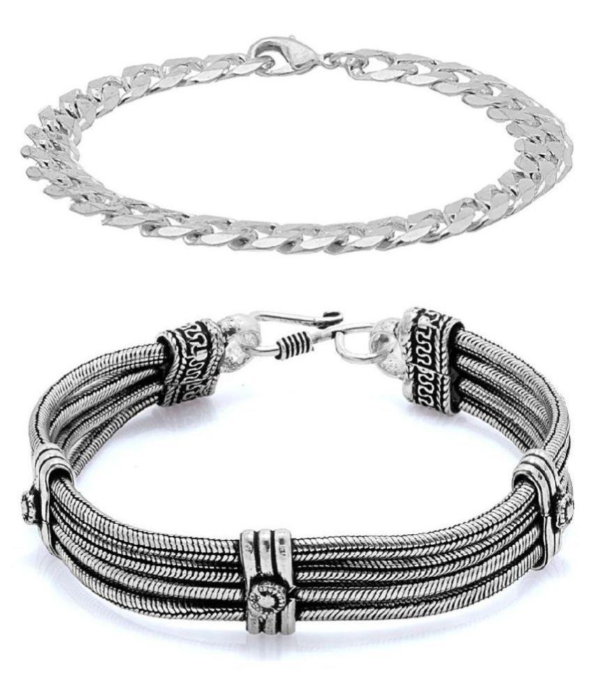 Voylla Link Style Bracelet Combo