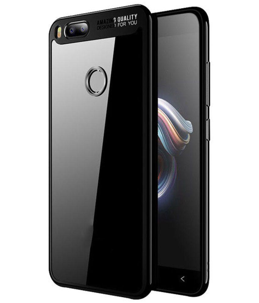 Xiaomi Mi 5X Plain Cases Trap - Black
