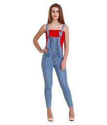 WESTERN SHOPPING Denim Blue Dungarees