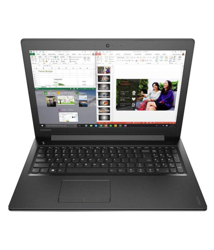Lenovo Ideapad 310 80SM01EFIH Notebook Core i5 (6th Generation) 8 GB 39.62cm(15.6) Windows 10 Home without MS Office 2 GB Black