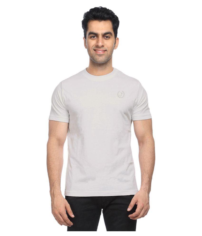 PLANET 69 White Round T-Shirt