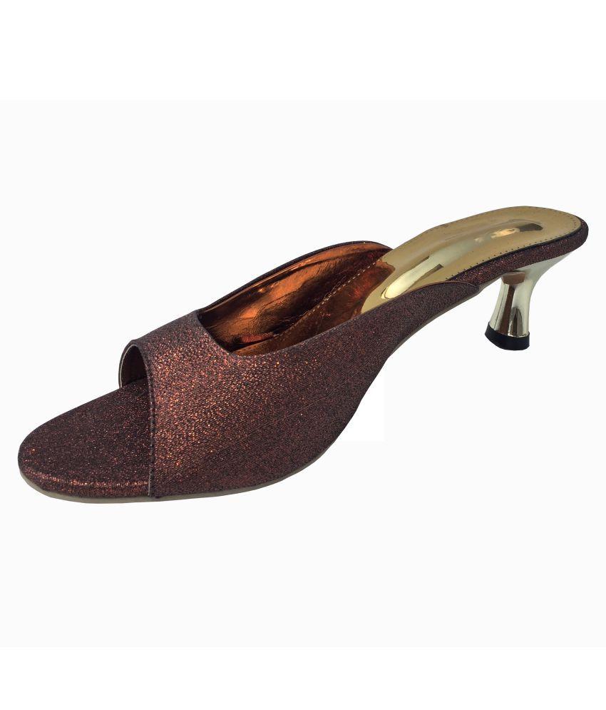39e1c5f8e Ranhad Brown Ethnic Footwear Price in India- Buy Ranhad Brown Ethnic  Footwear Online at Snapdeal