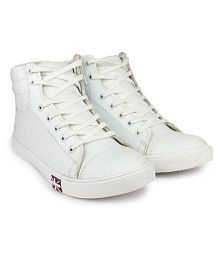 ARRFASHION Sneakers White Casual Shoes