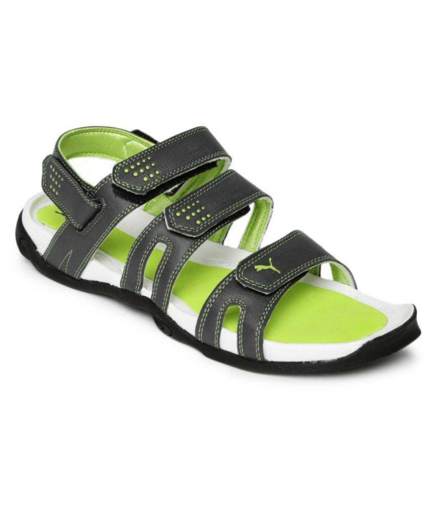 e4cfa2baffc99f Puma Men Aripon 3 DP Gray Sandals Price in India- Buy Puma Men Aripon 3 DP  Gray Sandals Online at Snapdeal
