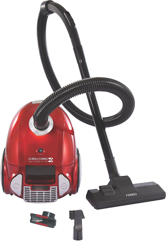 Eureka Forbes Trendy Zip Dry Vacuum Cleaner Red Black Best