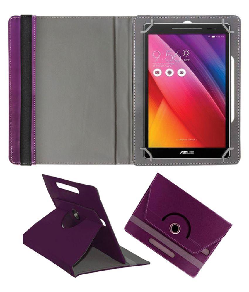 newest 6ab09 6bcd6 Asus Zenpad 8.0 Z380Kl Flip Cover By Fastway Purple