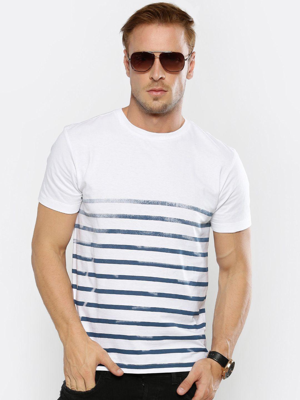Genius18 White Round T-Shirt Pack of 1