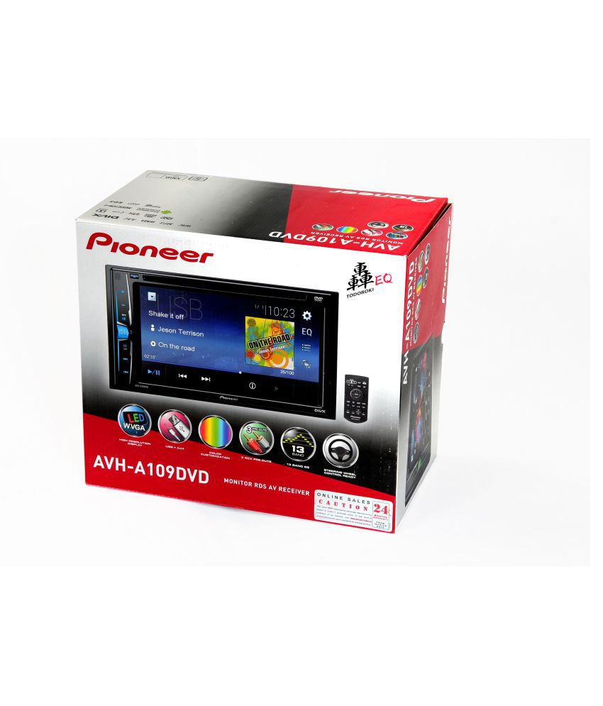 Car Stereo Installation Cost >> Pioneer AVH-A109 DVD Double DIN Car Stereo: Buy Pioneer AVH-A109 DVD Double DIN Car Stereo ...