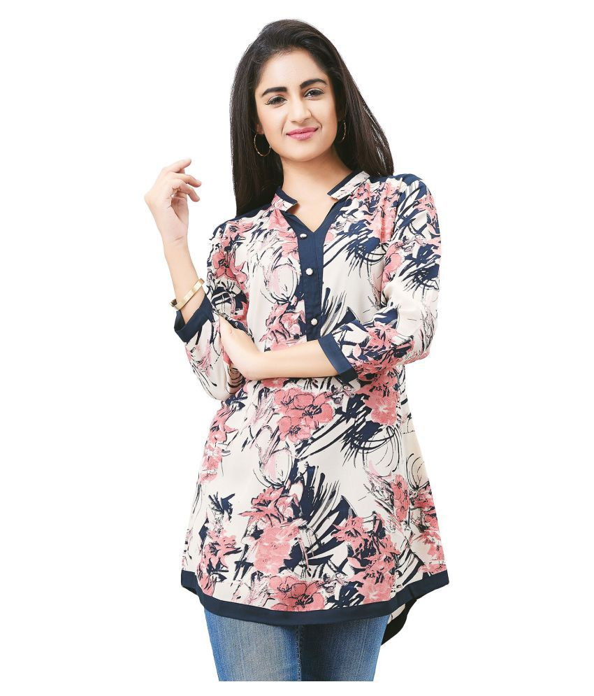 9d1c2a56ca Aarnaa Satin Tunics - White - Buy Aarnaa Satin Tunics - White Online at  Best Prices in India on Snapdeal