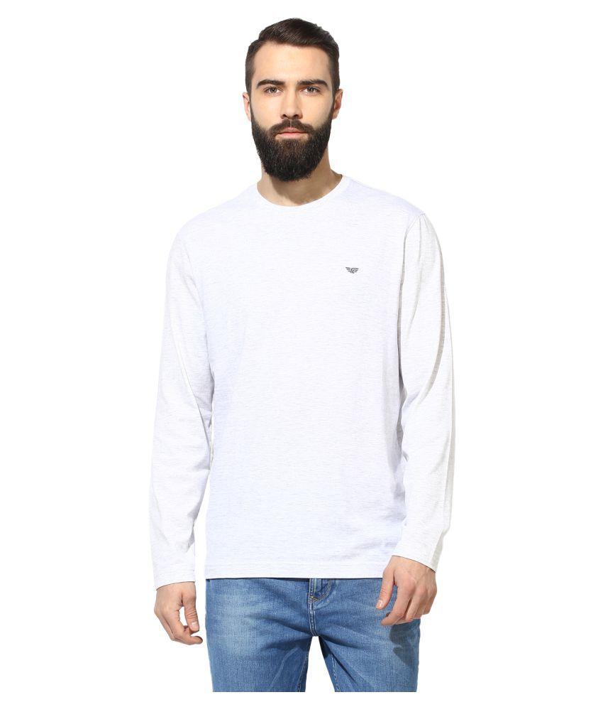 Red Tape Grey Round T-Shirt