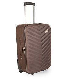 Fly Brown S (Below 60cm) Cabin Soft Luggage