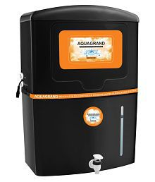 Aquagrand 15 Litre Ag-14 Stage RO+UV & TDS Controller +Minerals Water Purifiers