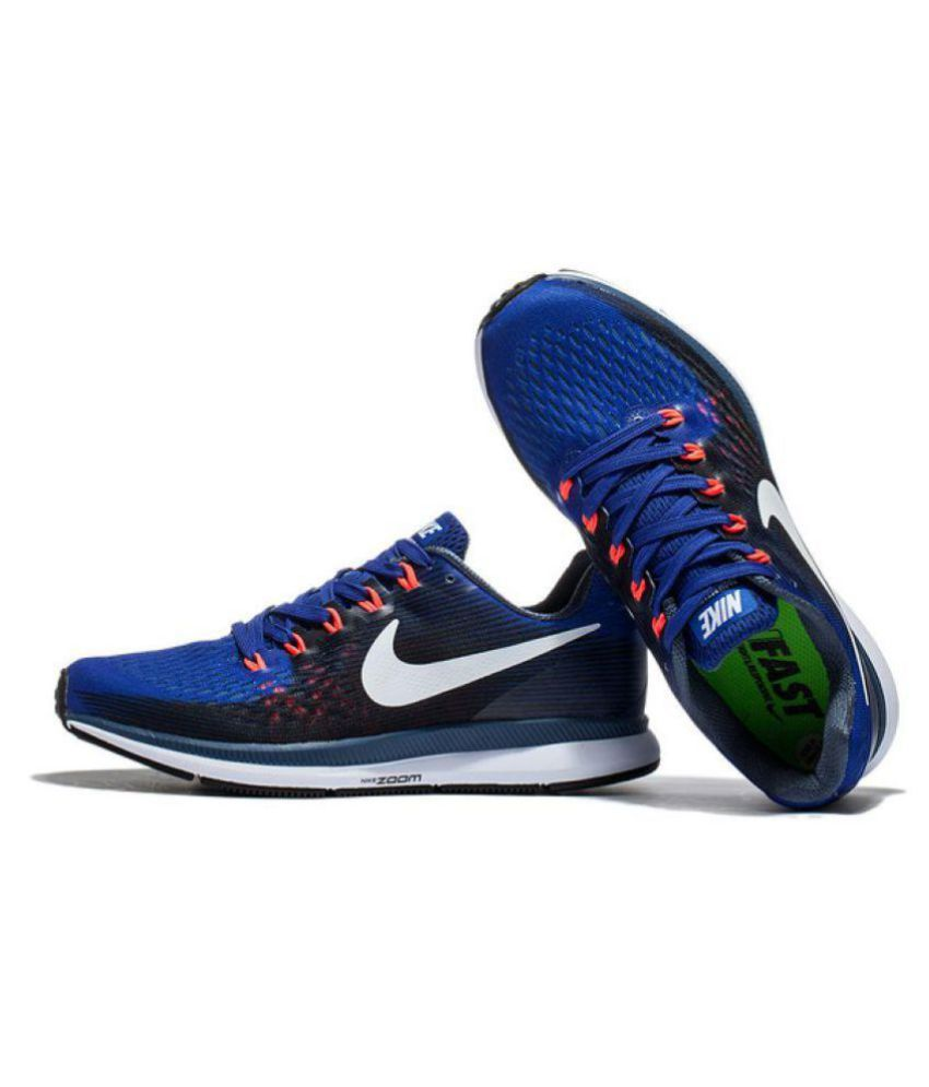 8c0d3e99a596 Nike Zoom Pegasus 34 Blue Running Shoes - Buy Nike Zoom Pegasus 34 ...