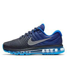 official photos 9289d 0962e ... Nike Air Max 2017 Blue Running Shoes .
