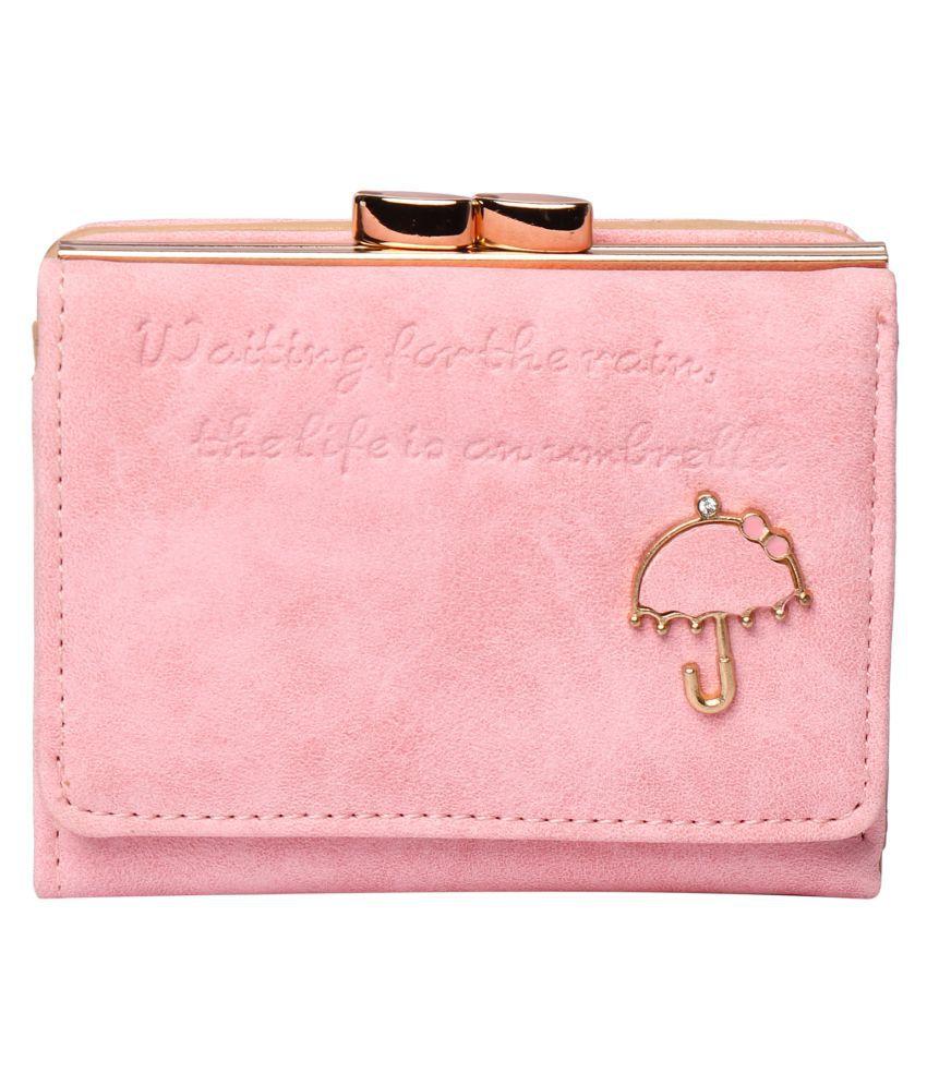 Umbrella Pink Wallet